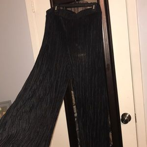 Boohoo + Slinky Black Pants